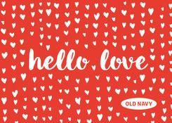 ON- VDay- Hello Love
