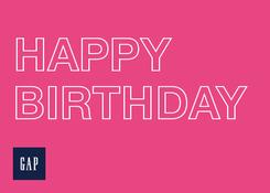 GAP - 2015 US Happy Birthday