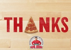 Thanks -Pizza is the A